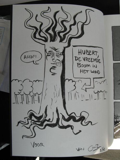 Hubert, de vreemde boom in het woud