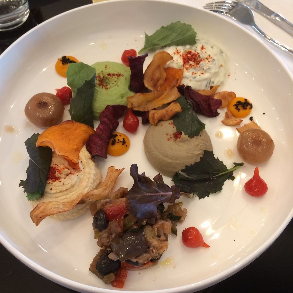 Guacamole, Hummus, Tzatziki, Auberginekaviaar