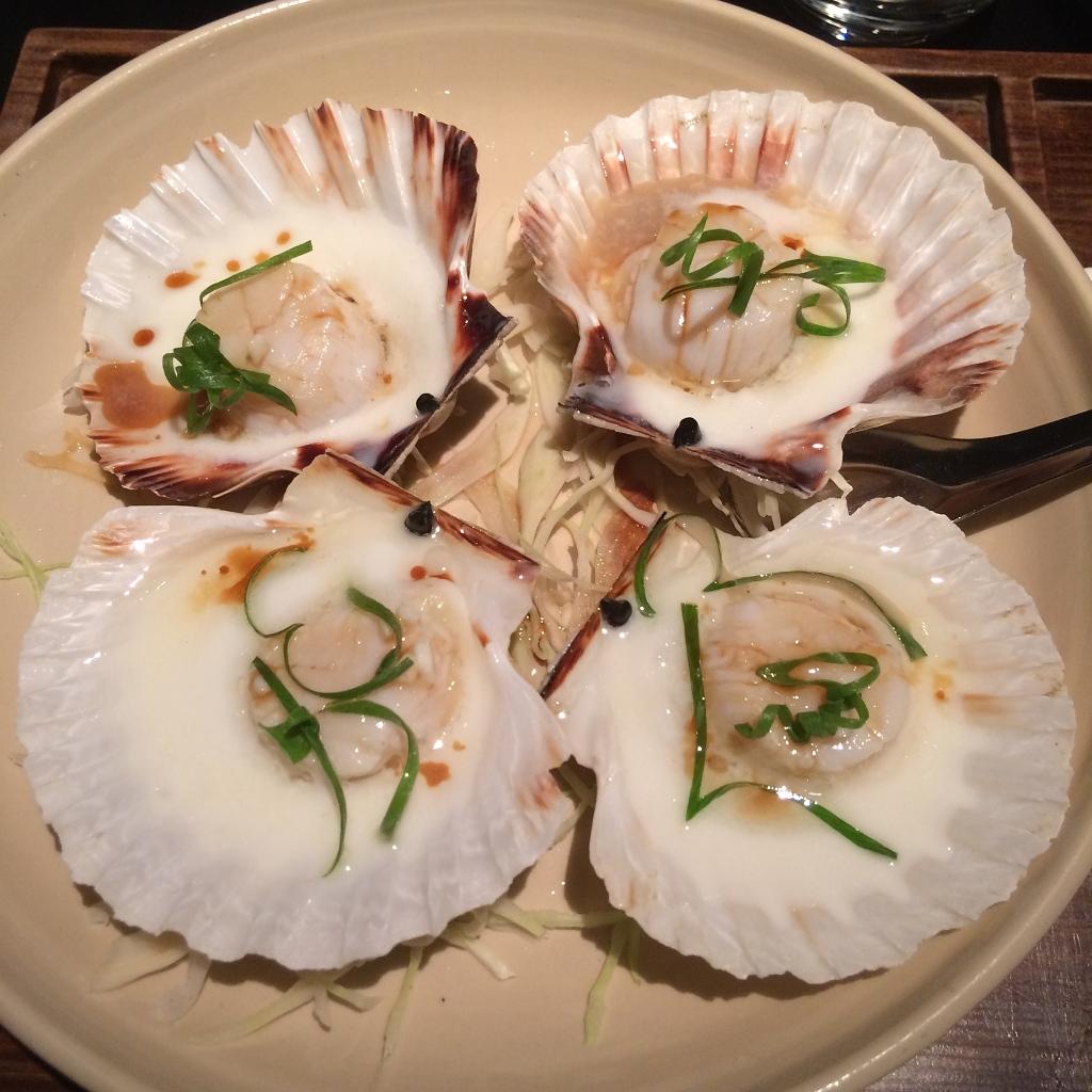 Sint-Jacobsvruchten gestoomd met eiwit