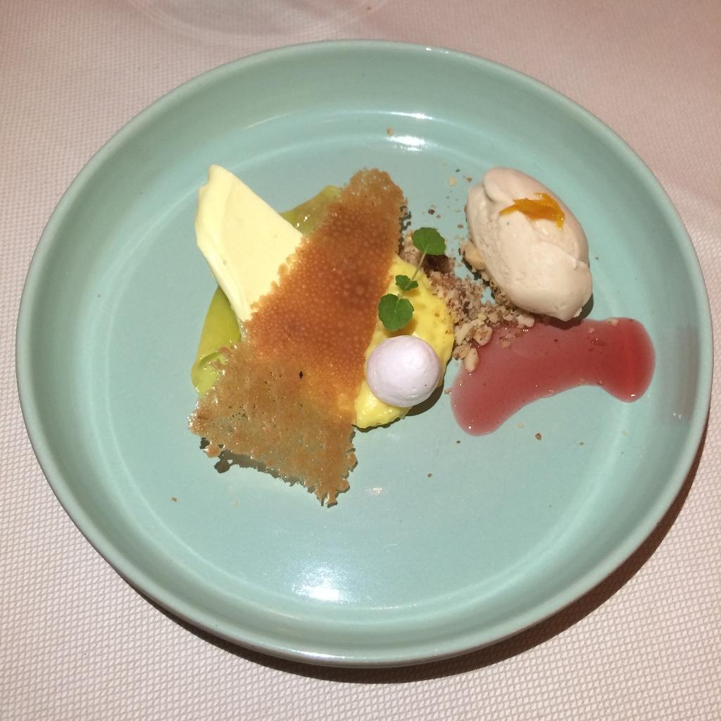 Creatie…als thema mango, rijstcrème, chocolade