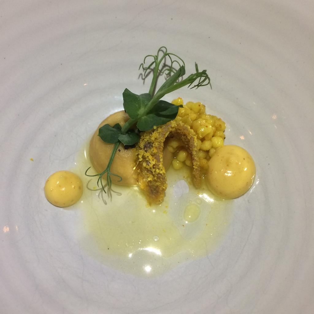 Sardine met mayonaise en handgerolde couscous