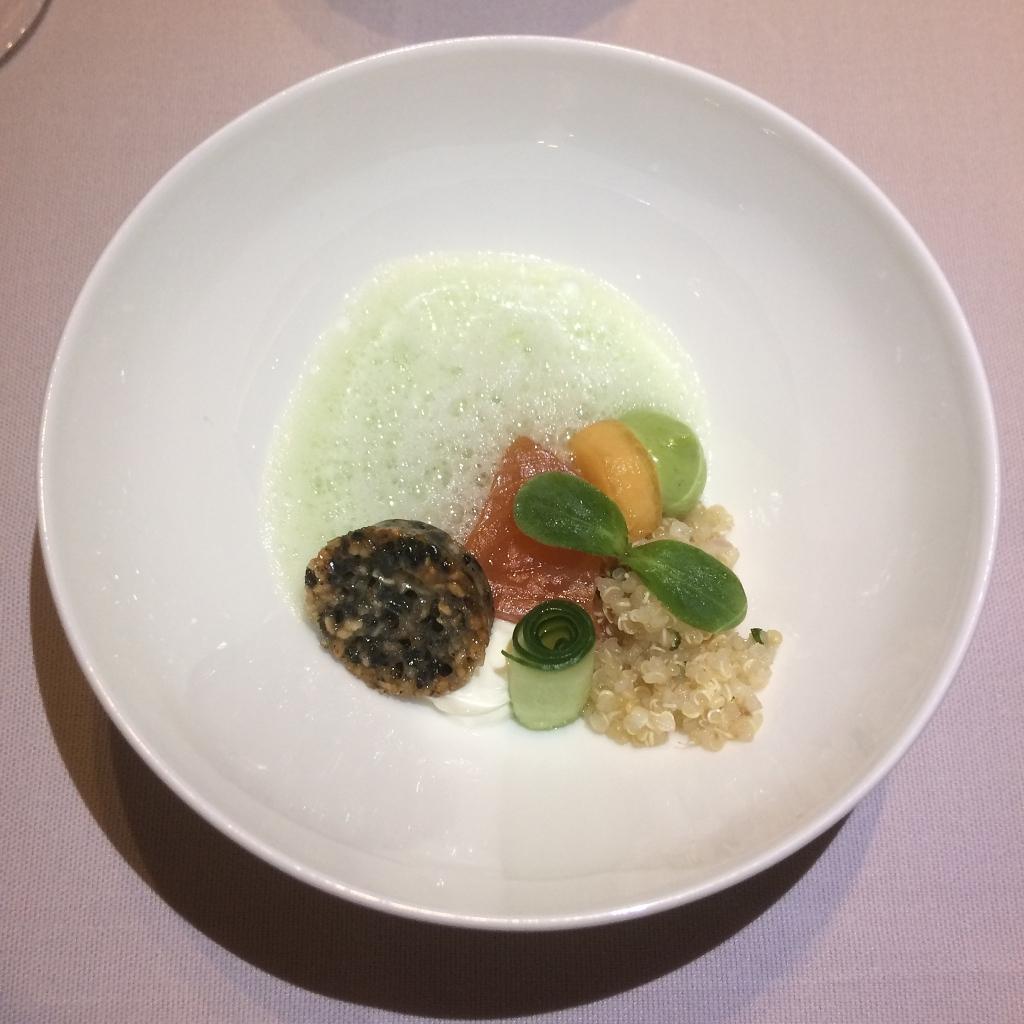 Gepekelde Zalm - Quinoa - Meloen