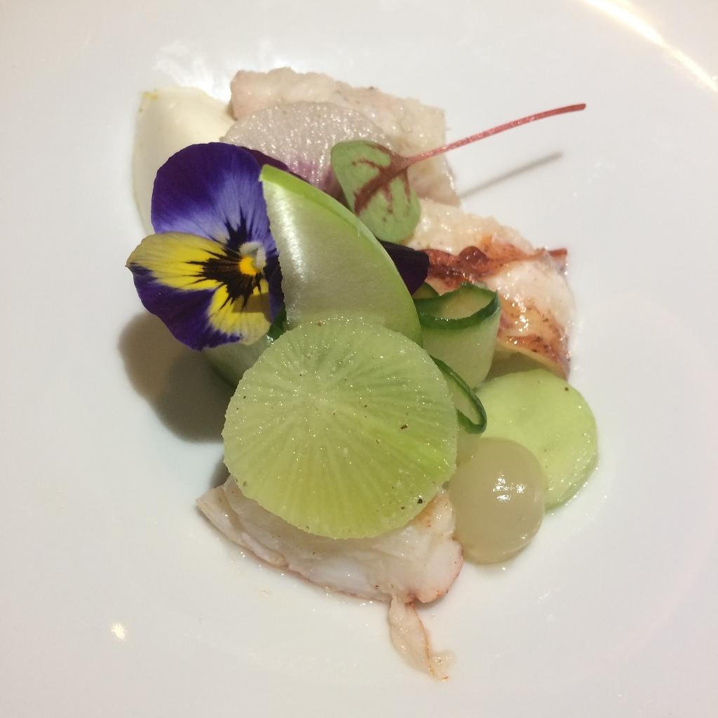 Kreeft - Gerookte Paling - Bergamot - Komkommer