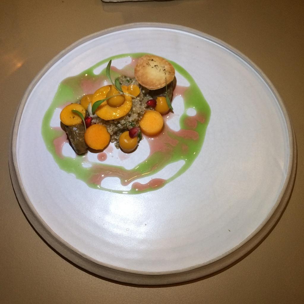 Aubergine | pompoen | quinoa