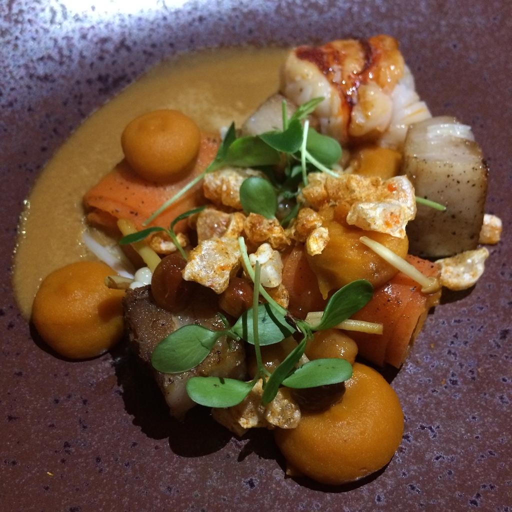 Kreeft - wortel - appelsien - komijn - kikkererwt
