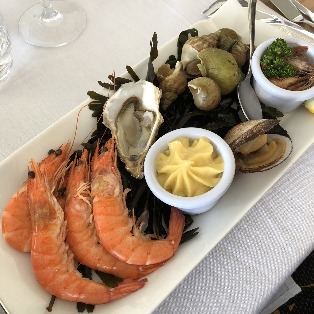 Assortiment de fruits de mer